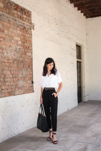 Spring Capsule Wardrobe Inspiration: Business-ish