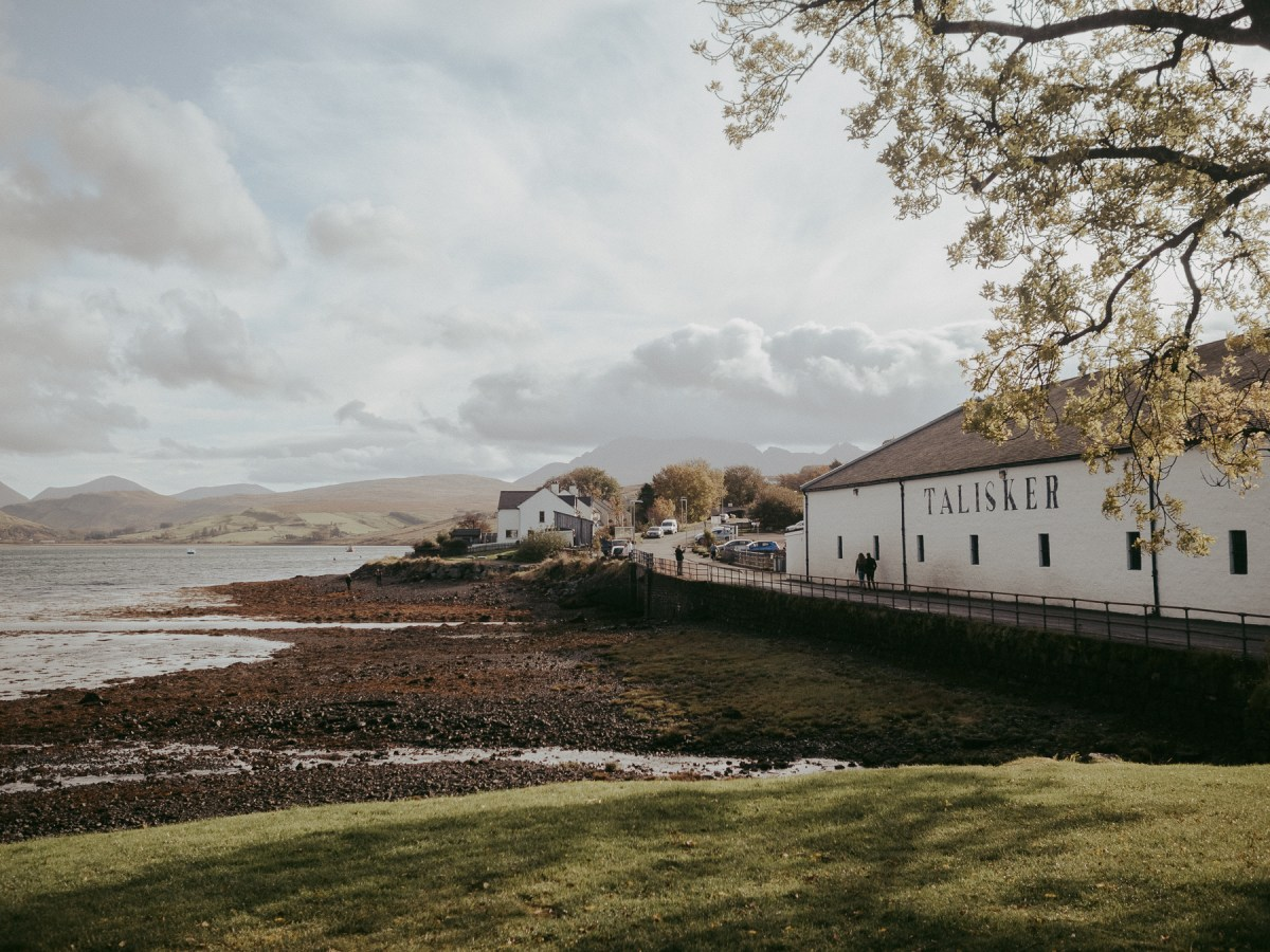 Talisker Distillery, Isle of Skye | A One Week Scottish Highlands Travel Itinerary | a detailed account of exactly what we did to make the best 7 day roadtrip through the Scottish Highlands | W&S