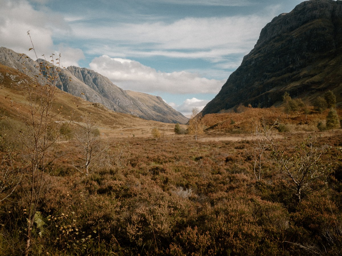 Views of Glencoe Valley | A One Week Scottish Highlands Travel Itinerary | a detailed account of exactly what we did to make the best 7 day roadtrip through the Scottish Highlands | W&S