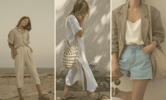 The (Mostly) Sustainable Summer Capsule Wardrobe | a collage of neutral, classic, sustainable pieces to last you summer (and Spring) season after season | W&S