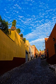 A Mexican palette of evening colors