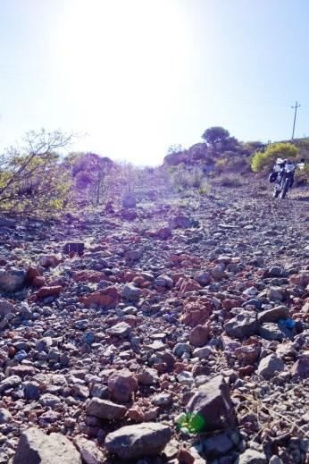 The rocks that broke the Zebra's back
