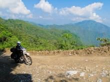 Endless dirt through the mountains