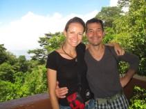 Couple shot at the top of El Boqueron