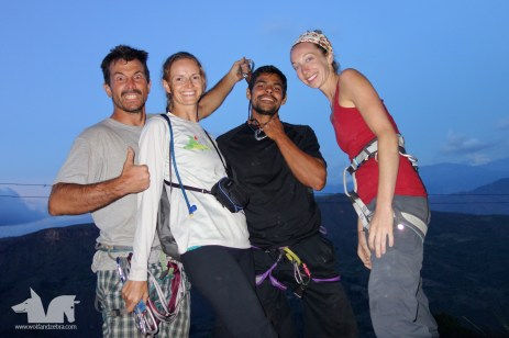Marcos and Michelle - our climbing buddies.