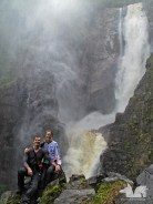 The Salto de Bordones near San Agustin will remain the most amazing waterfall of our trip