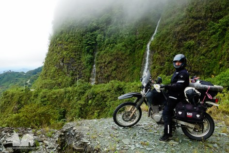 Not quite the Bolivian Death Road but just as impressive and way less traveled