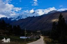Huascaran mountain looming large