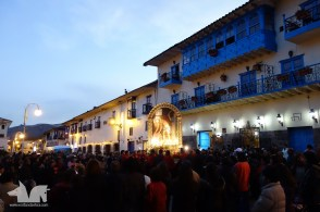 A random jesus celebration in Cusco