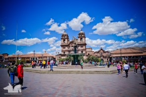 The Cusco Cathedra located on the Plaza de Arma