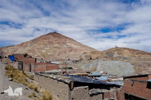 Cerro Rico, the rich hill, and the silver mine that defines Potosi