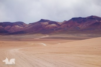 The most surreal mountains colors we've ever seen.