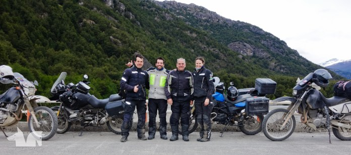 We encountered a friendly father and son duo on our way to Caleta Tortel