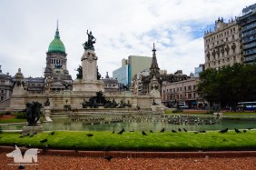 The historic grandeur of Buenos Aires.