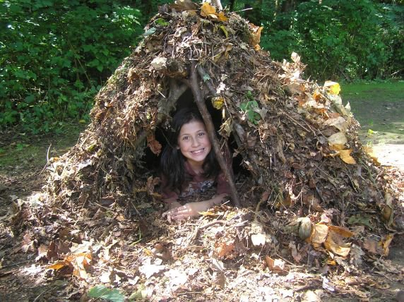 Day Camp Survival Shelter