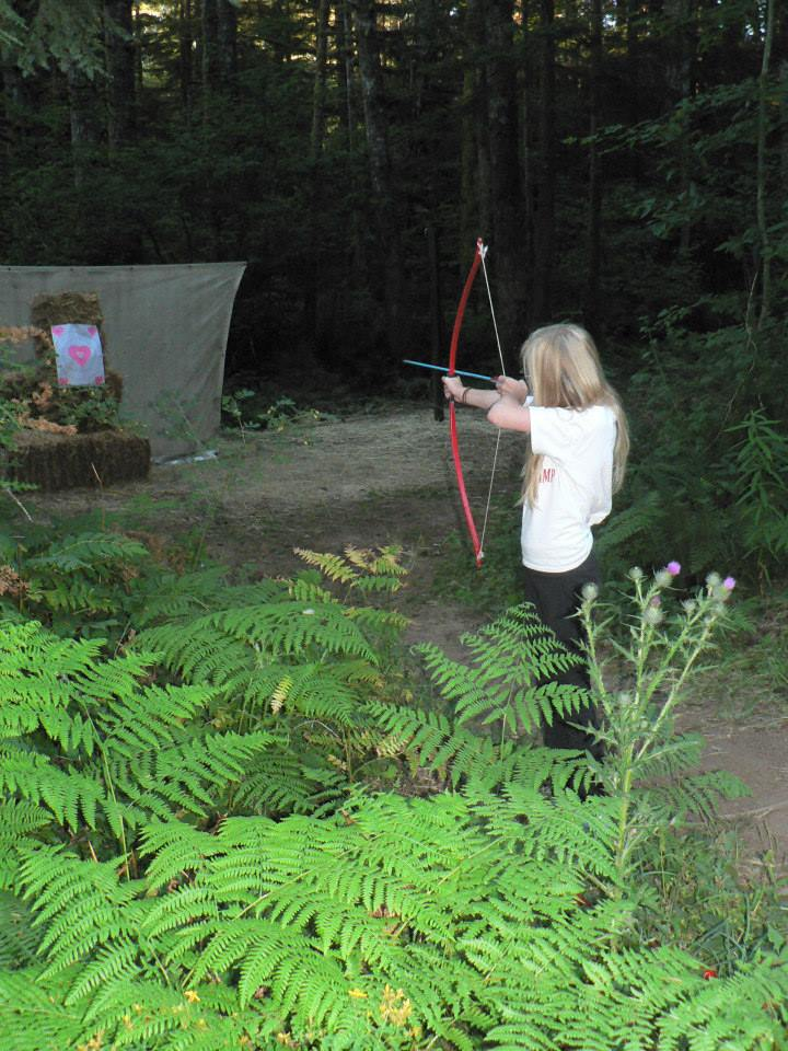 Artisan Camp archery.