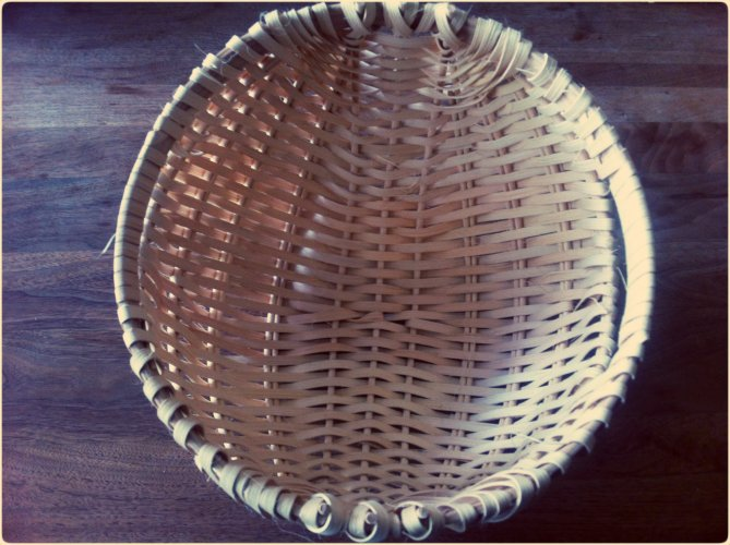 How to Make an Appalachian Potato Basket