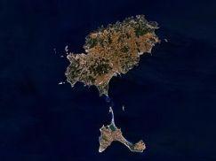 Ibiza (aufgenommen von der NASA)