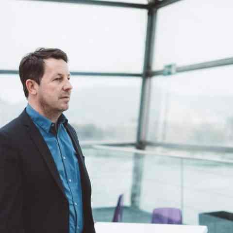 Daniel Häni - Portrait in Linz AEC