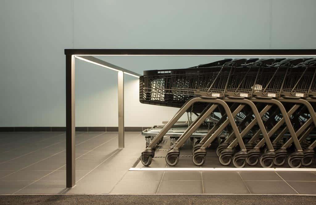 Produktfotografie Shop Design Outdoor LED Aluminium Fahrradleuchten