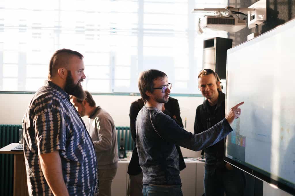 Virtual Reality Meetup Linz Tabakfabrik Linz my Playstore Eventfotografie