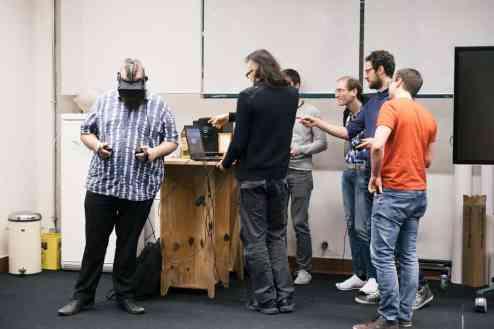 Virtual Reality Game Meetup Linz Tabakfabrik Linz my Playstore Eventfotografie Reportage