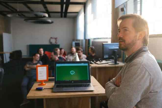 Vortäge Virtual Reality Meetup Linz Tabakfabrik Linz my Playstore Eventfotografie Reportage