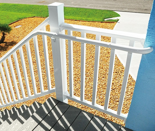 Westbury Aluminum Railing Systems From Wolf Wolf Home Products | Outdoor Handrails Near Me | Handrail Ideas | Metal | Wrought Iron Railings | Stair Railings | Steel Handrail