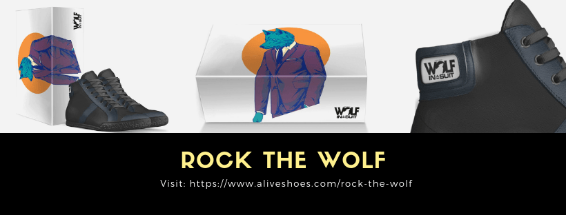 rock the wolf - wolf in a suit - alive shoes - limited edition - wolf in a suit blog - wolf in a suit music blog - indie rock - indie pop - indie folk - new music - new music alert - italy - italian leather - new shoes