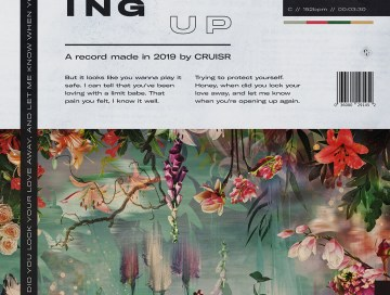 opening up - by - cruisr - USA - indie music - new music - indie pop - music blog - indie blog - wolf in a suit - wolfinasuit - wolf in a suit blog - wolf in a suit music blog