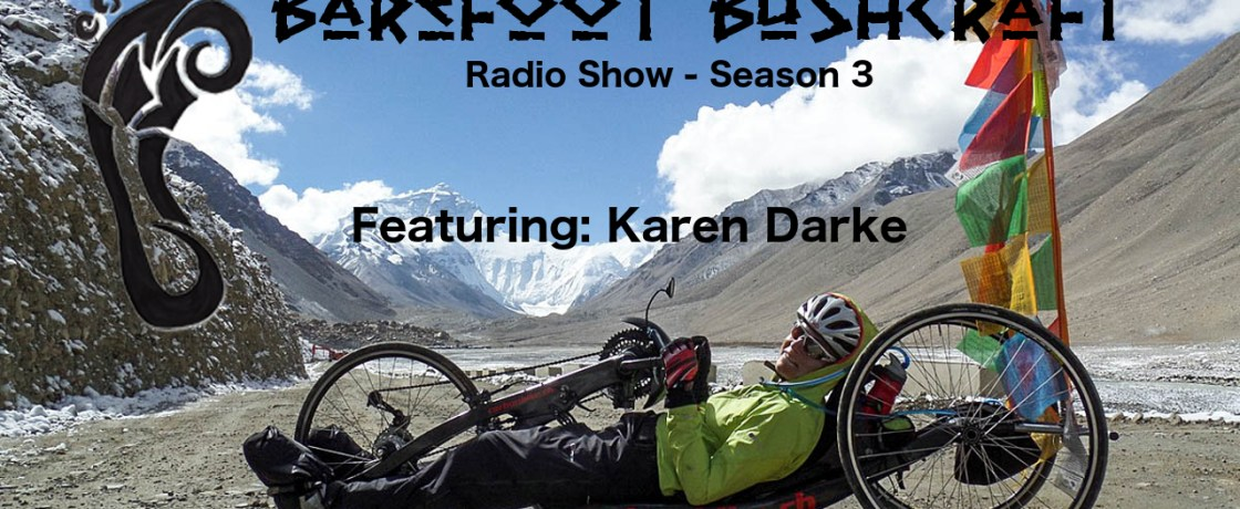 Season 3 Episode 1: Barefoot Bushcraft Radio Show
