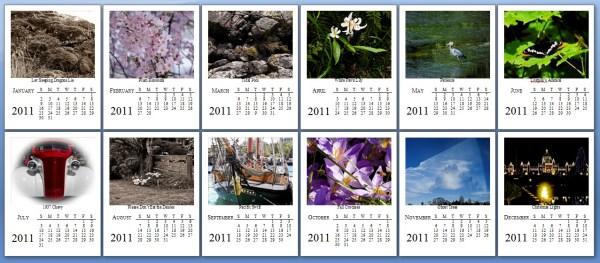 2011 Photo Calendar