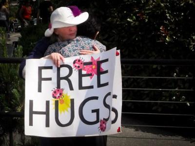 Free Hugs Victoria 2012