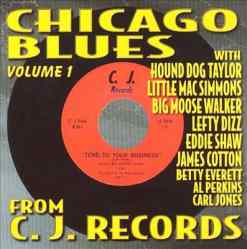 120281 Chicago Blues from the Vaults of C.J. Records 1