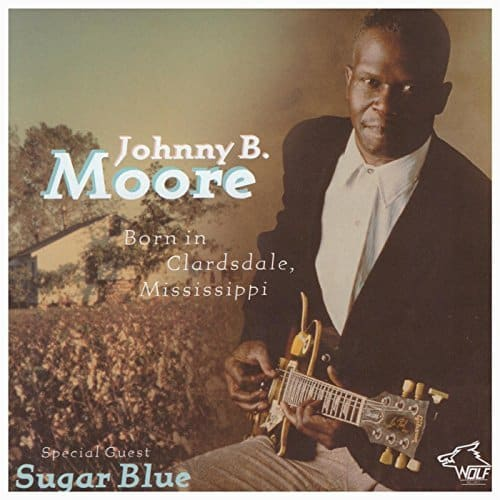 120804 Johnny B. Moore Born in Clarksdale Mississippi