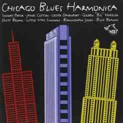 120848 Chicago Blues Harmonica Various Artists