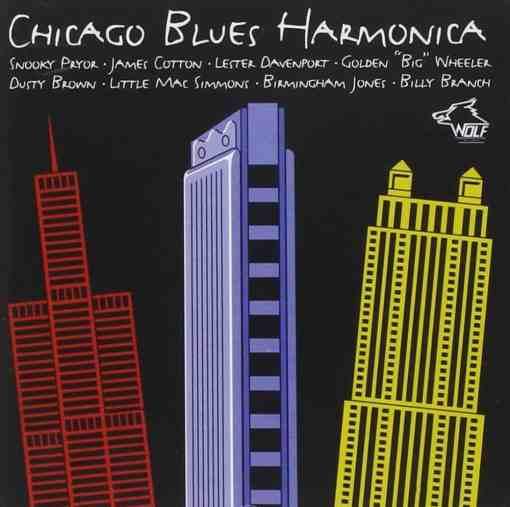 120848 Chicago Blues Harmonica Various Artists