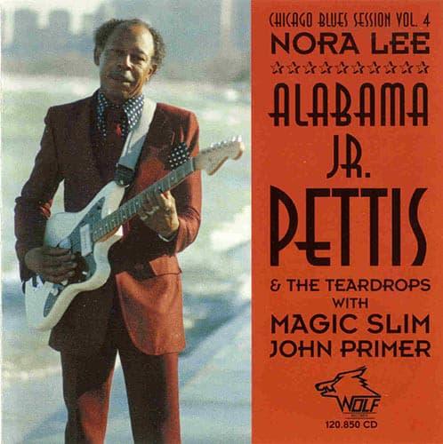 120850 Chicago Blues Session Vol. 4 Alabama Jr Pettis The Teardrops Nora Lee