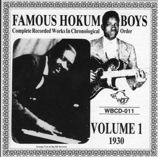 WBCD011 Famous Hokum Boys Vol. 1 1930