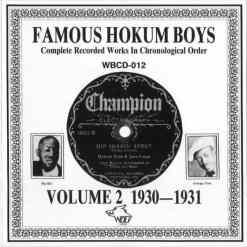WBCD012 Famous Hokum Boys 1930 1931 Vol. 2