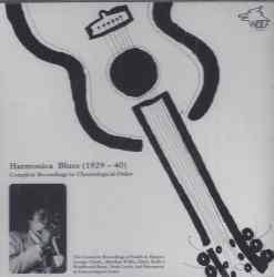 WSE106 Harmonica Blues 1929 1940
