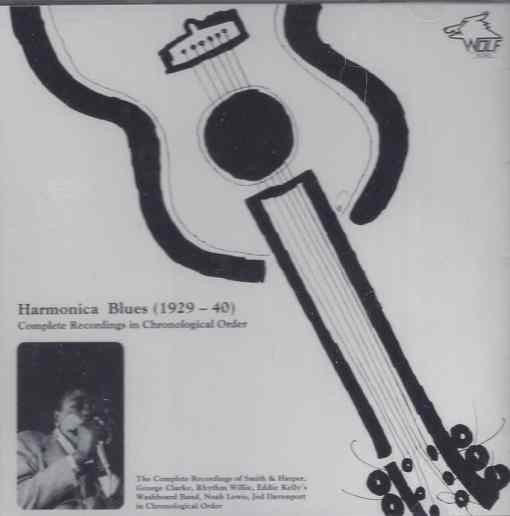 WSE106 Harmonica Blues 1929 1940