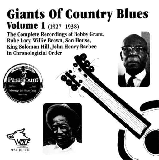 WSE107 Giants of Country Blues Vol. 1