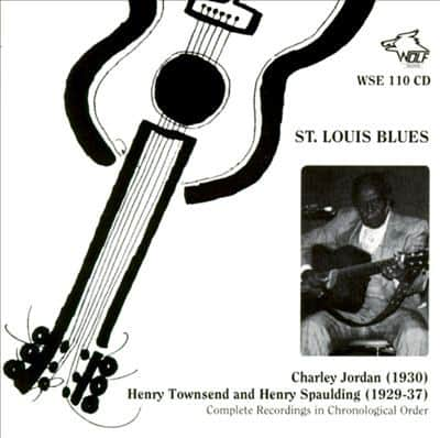 WSE110 Charley Jordan Henry Townsend and Henry Spaulding St. Louis Blues