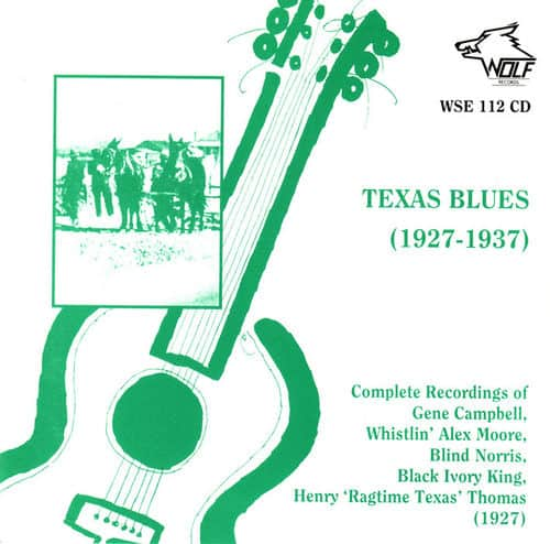 WSE112 Mississippi Blues 1928 1935