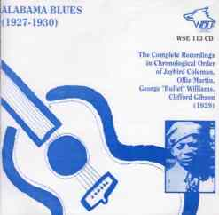 WSE113 Alabama Blues 1927 1930
