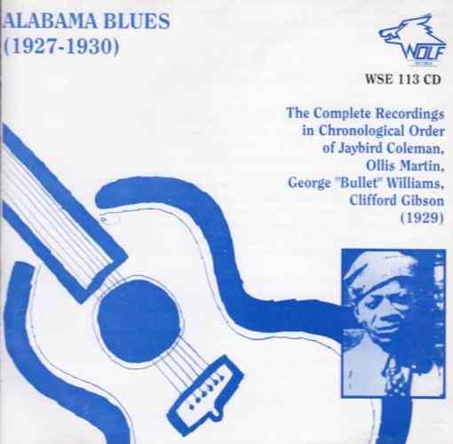 WSE113 Alabama Blues 1927 1930