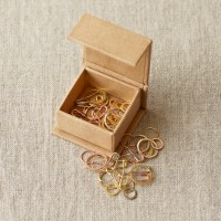 coco knits precious metal stitch markers