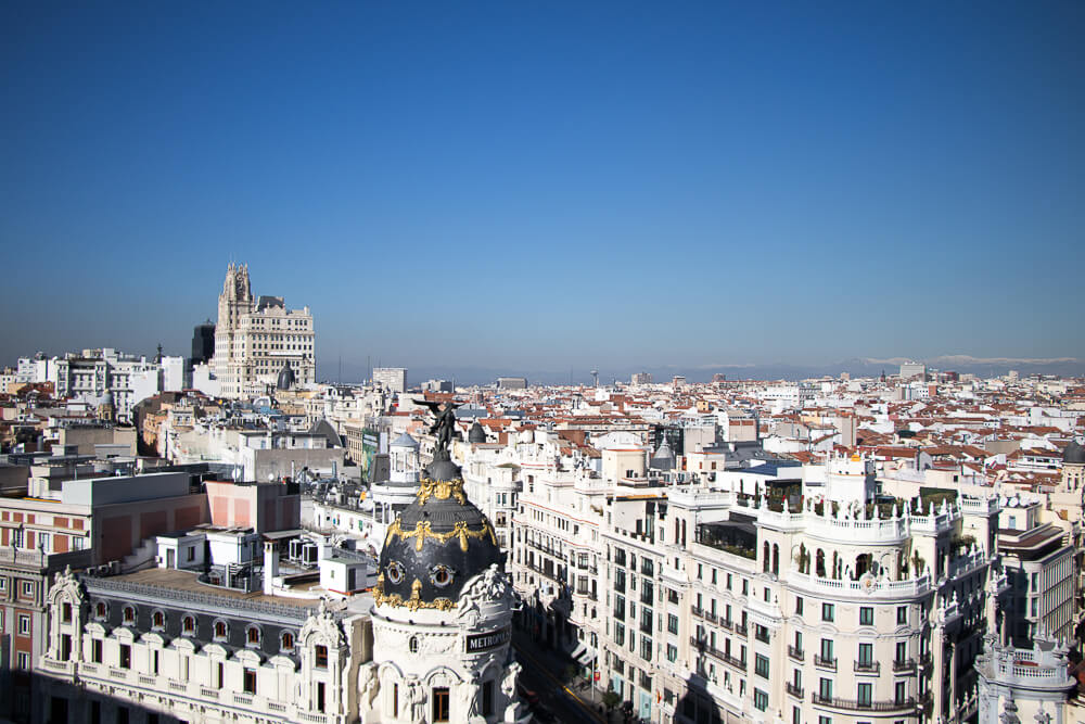 Madrid - Panorama Circulo de bellas artes
