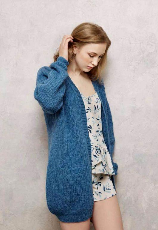 Rauma Knit Kit For Cardigan